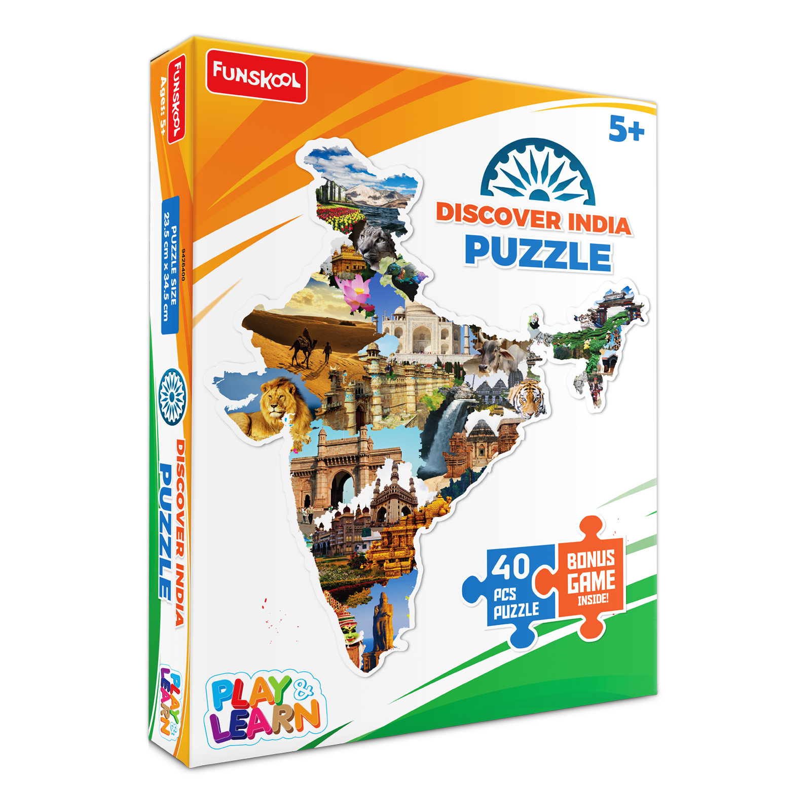 Discover India Puzzle