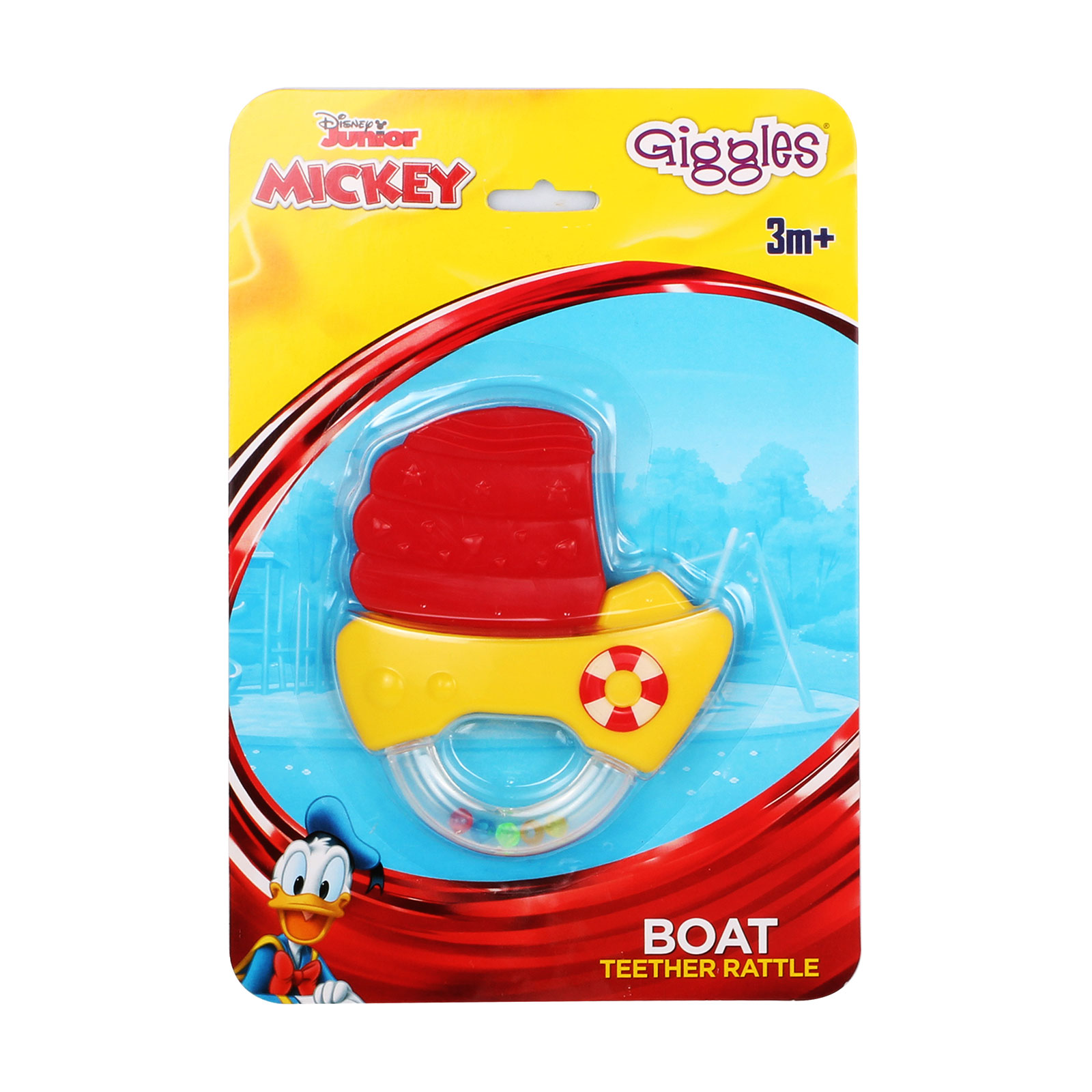 Disney Rescue Boat Teether