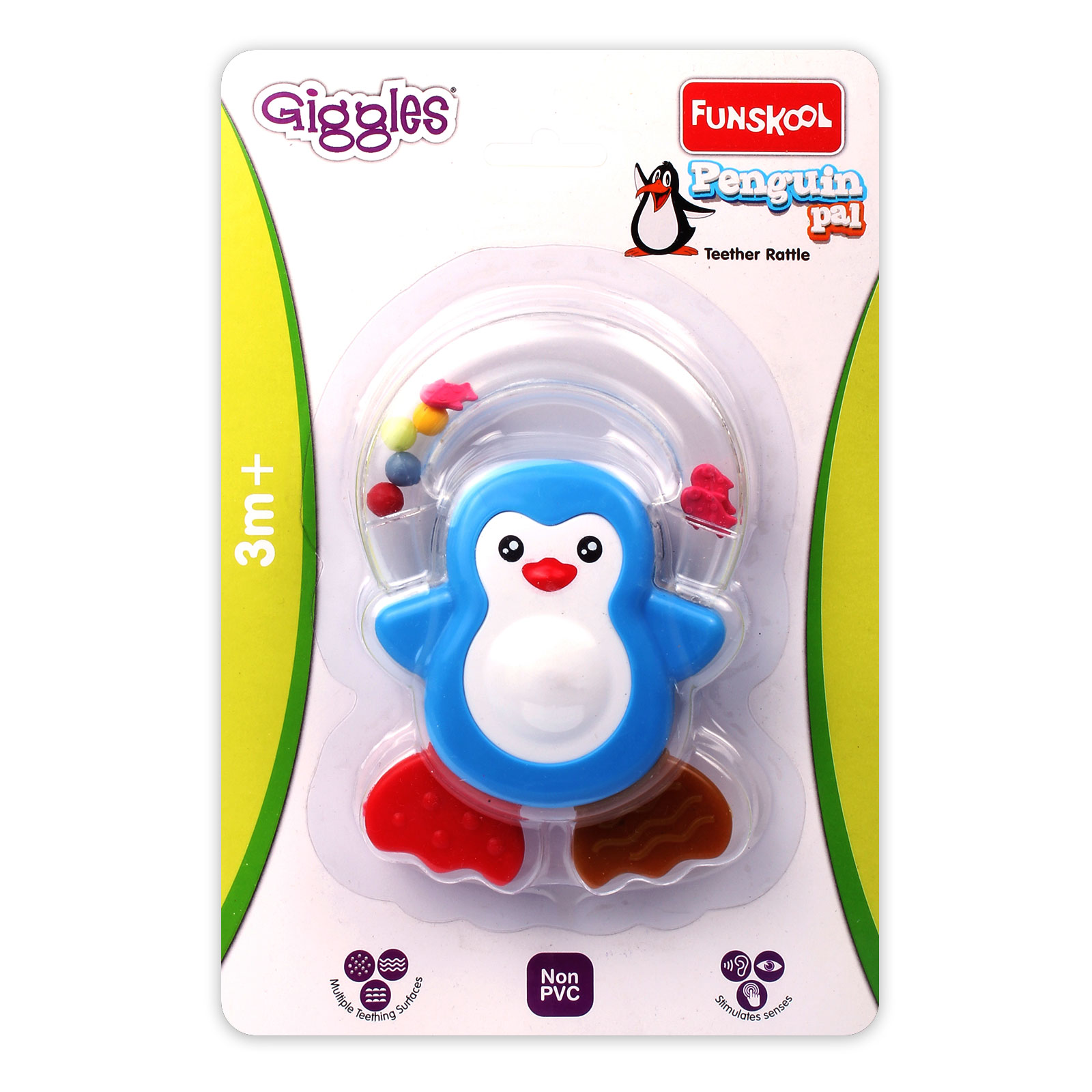 Penguin Pal Teether Rattle