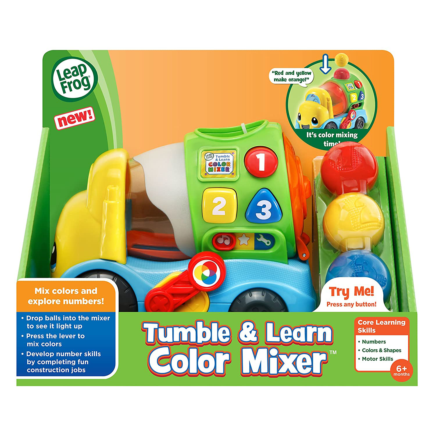 Tumble & Learn Color Mixer