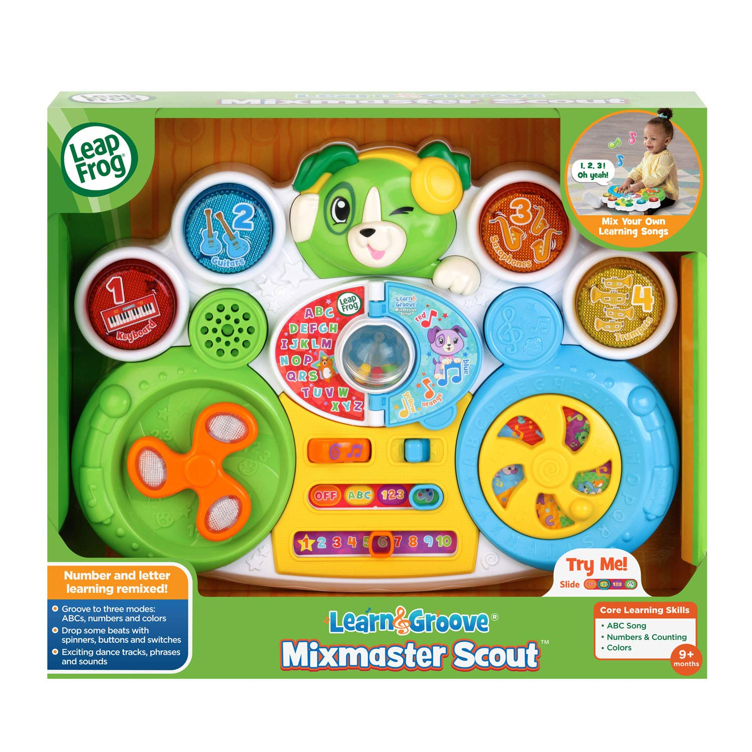 Learn & Groove Mixmaster Scout