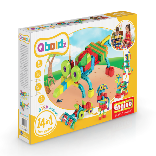Qboidz 14 in 1 Multi Model Set