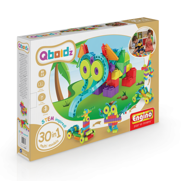 Qboidz 30 in 1 Multi Model Set