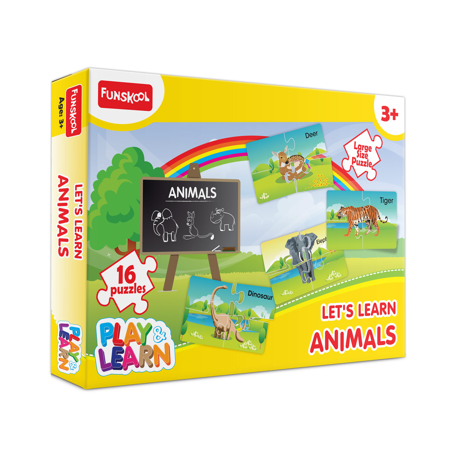 Let's Learn Animals Puzzle