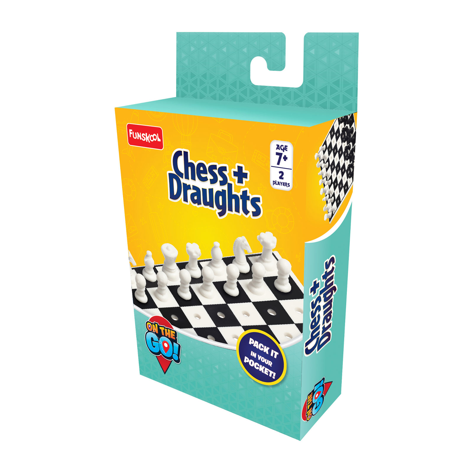 Travel Chess & Draughts